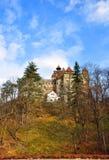 麸皮城堡德雷库拉 库存图片
