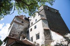 麸皮城堡德雷库拉s城堡 免版税图库摄影