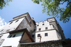 麸皮城堡德雷库拉s城堡 免版税库存图片