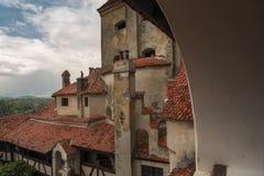 麸皮城堡窗口 免版税库存照片