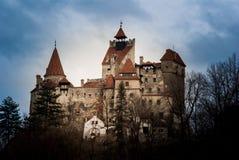 麸皮城堡罗马尼亚transylvania 免版税库存图片