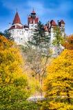 麸皮城堡罗马尼亚transylvania 免版税图库摄影