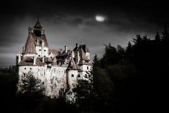 麸皮城堡,罗马尼亚,特兰西瓦尼亚 库存照片