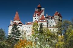 麸皮城堡,罗马尼亚 图库摄影