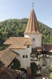 麸皮城堡,罗马尼亚 库存照片