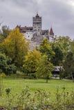 麸皮城堡,罗马尼亚 免版税图库摄影
