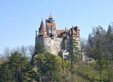 麸皮城堡-德雷库拉` s城堡 免版税图库摄影