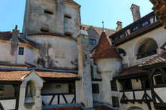 麸皮城堡-德雷库拉s城堡细节 免版税库存图片