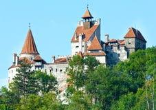 麸皮城堡(罗马尼亚) 免版税库存照片