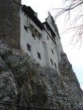 麸皮城堡transylvania墙壁 免版税库存图片
