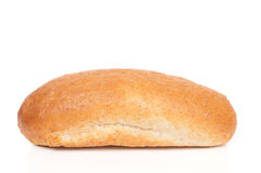 麸皮面包查出大面包白色 库存照片