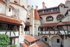 麸皮brasov城堡罗马尼亚 免版税库存图片