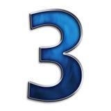 麻木3的3d 免版税图库摄影
