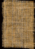 麻袋布纹理 图库摄影