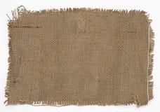 麻袋布 免版税图库摄影
