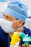 麻醉学者查找 免版税库存图片