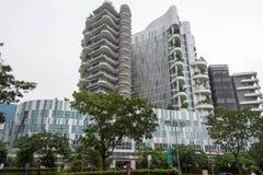黄廷芳综合医院Punggol,新加坡, 20 1月26日, 图库摄影