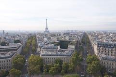 黄昏巴黎 图库摄影