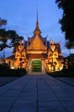黄昏泰国 免版税库存照片