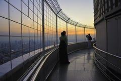 黄昏的曼谷 图库摄影