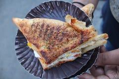 黄油奶油的味美 免版税库存照片