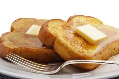 黄油法式多士 图库摄影