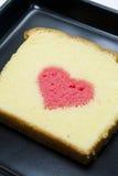 黄油蛋糕重点 免版税库存照片