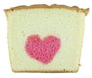 黄油蛋糕重点 免版税图库摄影