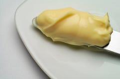 黄油蛋黄酱 图库摄影