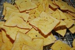 黄油面包 库存照片