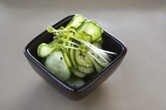 黄瓜日本人沙拉 免版税图库摄影