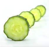 黄瓜片式 库存照片