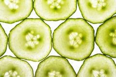黄瓜片式 库存图片