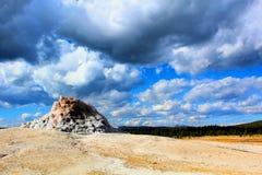 黄石国家公园美好的地热纹理 免版税库存照片