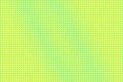黄绿色半音传染媒介背景 频繁半音纹理 ??dotwork?? 充满活力的被加点的中间影调 库存例证