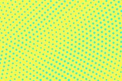黄绿色颜色半音传染媒介背景 辐形半音纹理 稀稀落落的dotwork梯度 充满活力的被加点的中间影调 库存例证