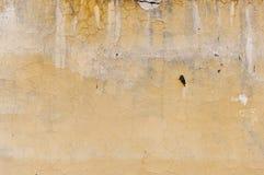 黄色墙壁 图库摄影