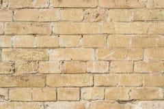 黄色大洪水前石工一块石砖的织地不很细背景  部分地被毁坏的墙壁 背景黑色蓝色砖组合grunge纸张砂岩构造口气 库存照片