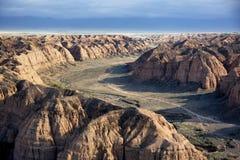 黄色峡谷 免版税图库摄影