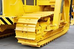 黄色推土机 库存照片