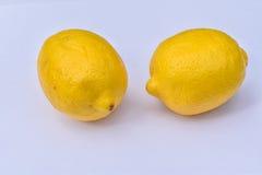 黄色柠檬 免版税图库摄影