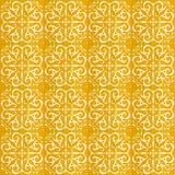 黄色样式瓦片的汇集 免版税库存图片
