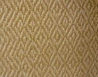 黄色秸杆席子地毯墙壁纹理 库存照片