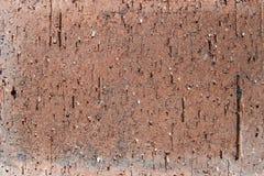 黄色老破裂的砖纹理背景 免版税库存图片