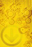 黄色设计 免版税库存图片