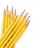黄色铅笔 库存图片