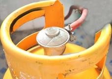 黄色集气筒 库存图片