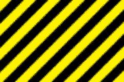 黄色黑镶边背景 免版税图库摄影