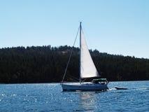 黄道带的主要木筏风船拖曳 免版税图库摄影