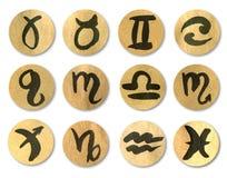黄道带符号 库存照片